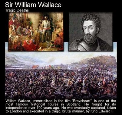 Tragic Death - Sir William Wallace