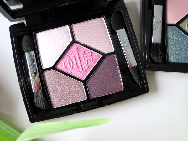 Dior 5 Couleurs Kingdom of Colours eyeshadow palettes 'House of Pinks'