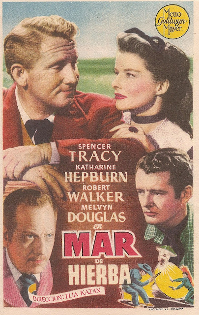 Programa de Cine - Mar de Hierba - Spencer Tracy - Katharine Hepburn - Robert Walker