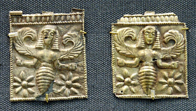 winged bee goddesses from Rhodes