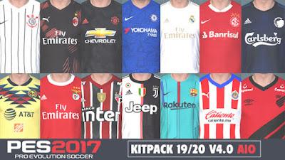 9ff3e1d47 PES 2017 Kitpack New Season 2019 2020 v4.0 AIO