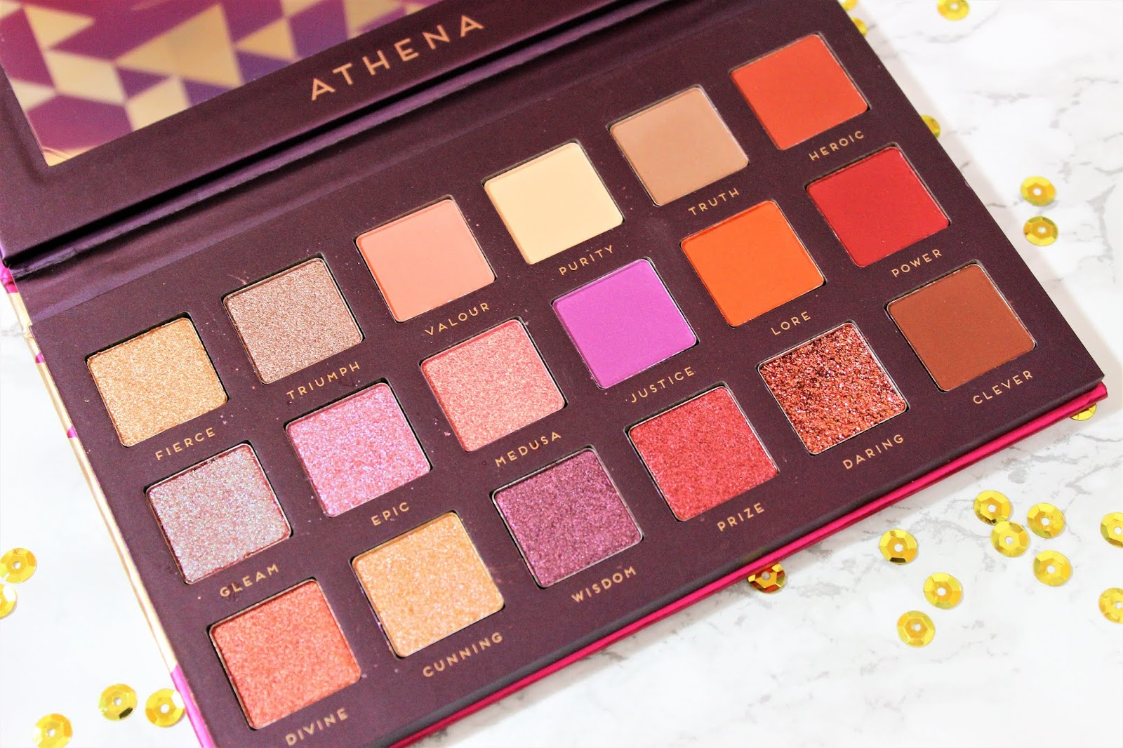 Athena Palette review