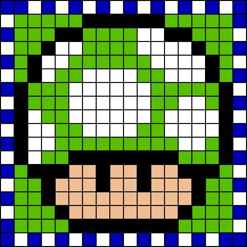 Educacin Artstica Cuadrculas de Mario Bross