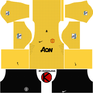 Manchester United Kits 2012/2013 - Dream League Soccer