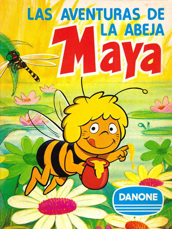 Album cromos Danone La abeja Maya