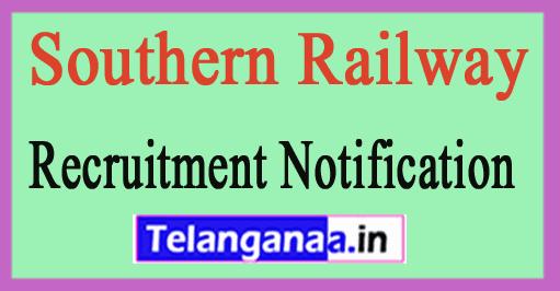 Southern Railway Recruitment Notification