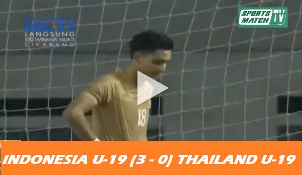 [VIDEO] Tiga GOL Indonesia U-19 Bikin Thailand Gak Bisa Tidur