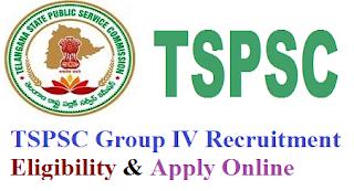 Telangana (TSPSC) Group 4 Eligibility Criteria & Selection Process