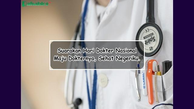 Kumpulan Kartu Ucapan dan Kata kata Hari Dokter Nasional 24 Oktober