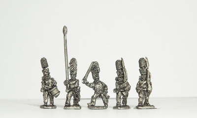 NPR5   Guard infantry, march attack, inc. command