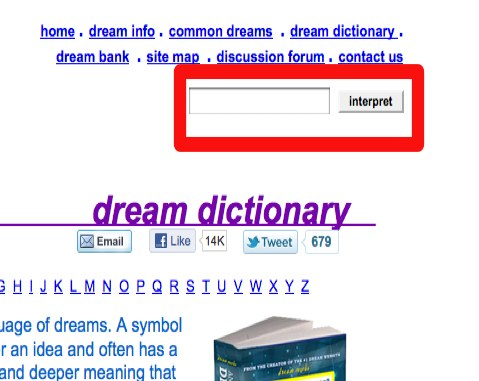 dream moods dream dictionary meanings for symbols that - 479×381