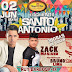 Esquenta Santo Antônio: 3 horas de show com Zack Mariano e participação de Bruno Lima no Prime Club dia 02 de junho.