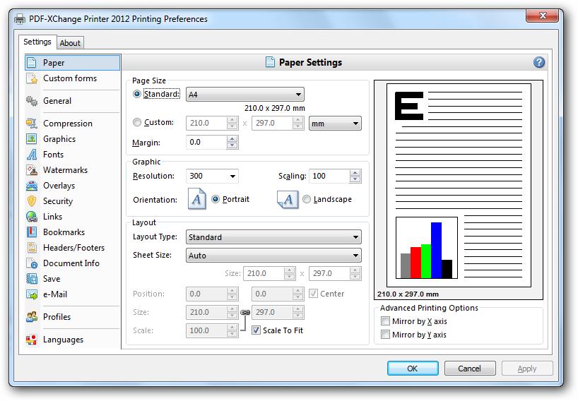 Portable pdf printer