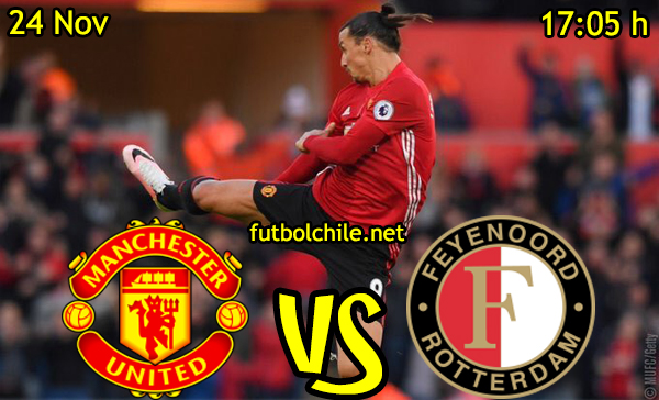 Ver stream hd youtube facebook movil android ios iphone table ipad windows mac linux resultado en vivo, online: Manchester United vs Feyenoord