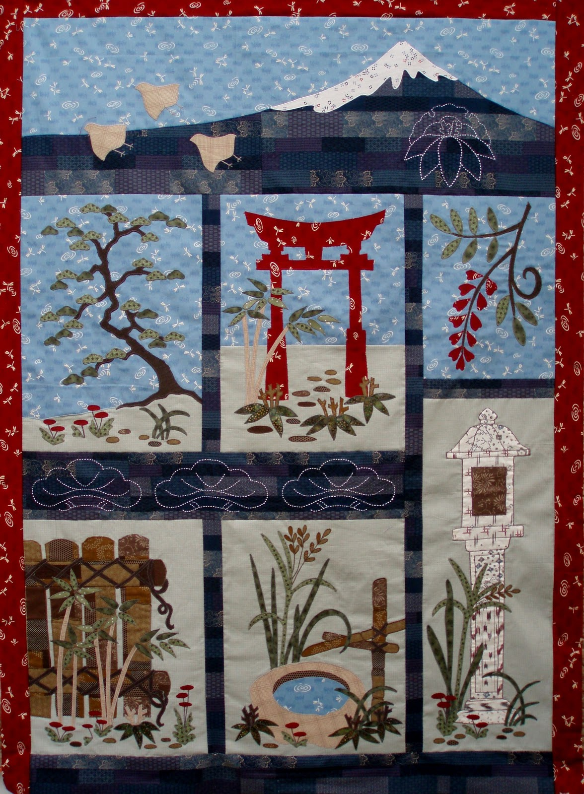 Elizabeth Camping Quilt Designs Block Of The Month Quilts