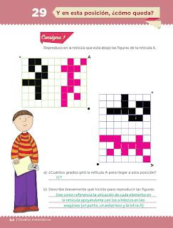 Respuestas Apoyo Primaria Desafíos Matemáticos 5to. Grado Bloque II Lección 29 Y en esta posición, ¿cómo queda?