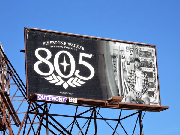 Firestone Walker 805 beer billboard