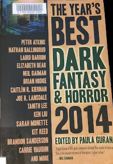 Years Best Dark Fantasy and Horror 2014 Book Cover