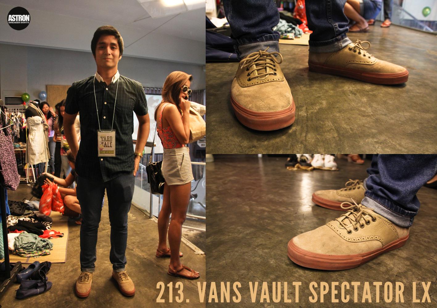 dabc51b355 Astron Sneaker Hunts  213. Vans Vault Spectator LX