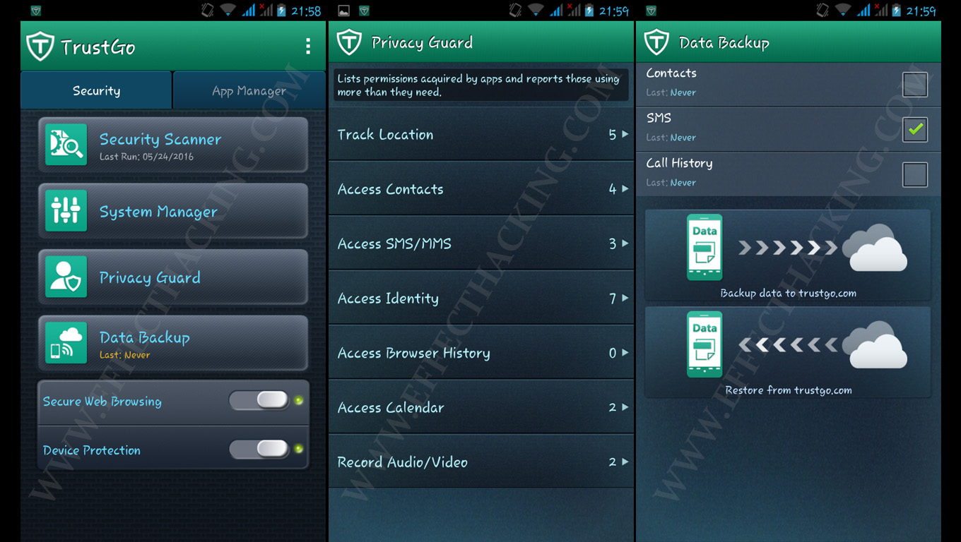 Trustgo antivirus and mobile security 1.0.6  for android
