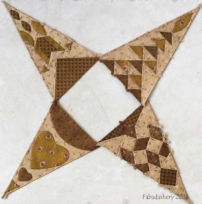 Dear Jane Quilt - Draw 31 - Border Triangles LR6, LR8, RR6, RR8