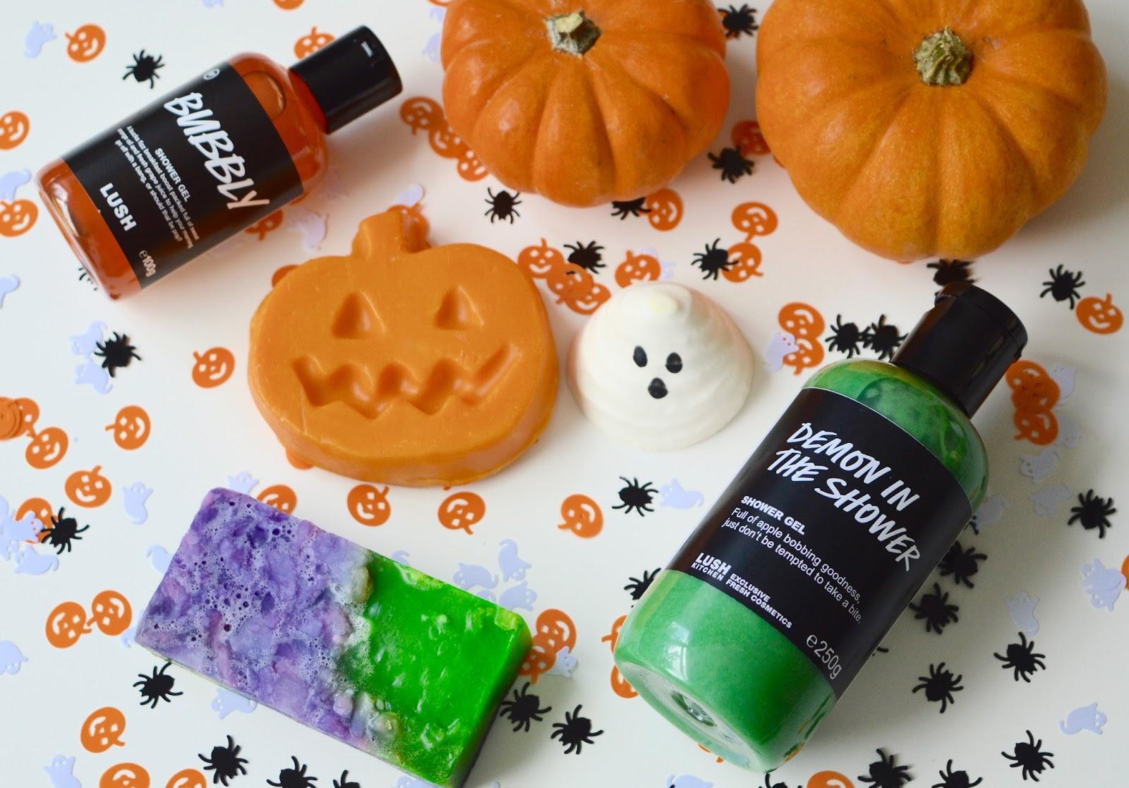 Beauty Review Lush 2016 Halloween Haul Popcorn And Glitter