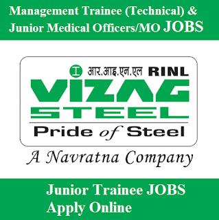 Rashtriya Ispat Nigam Limited, Visakhapatnam Steel Plant, RINL, Vizag Steel, freejobalert, Sarkari Naukri, Latest Jobs, 10th, Junior Trainee, Andhra Pradesh, AP, vizag steel logo