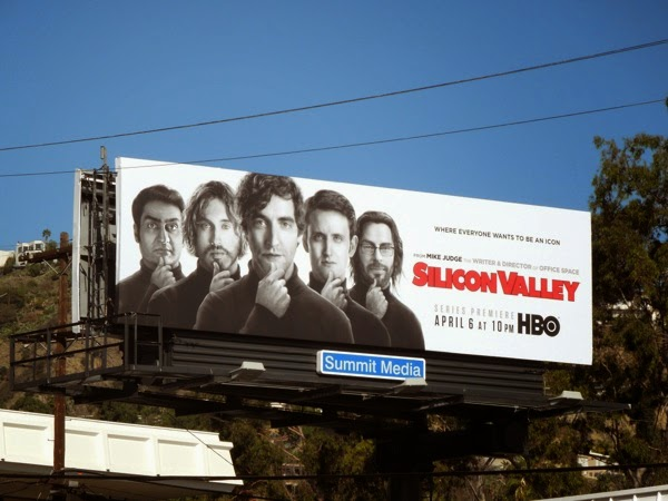 Silicon Valley series launch HBO billboard