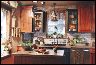 Liberian girl cute country primitive kitchen - Cute kitchen decorating themes ...