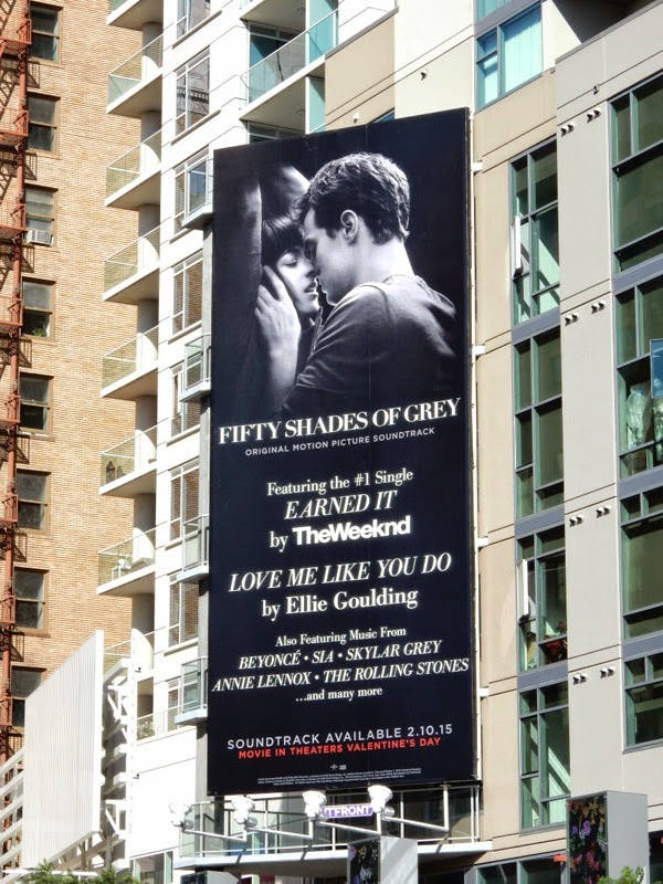 Fifty Shades of Grey soundtrack billboard