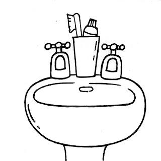 Dibujo Cuarto De Baño Para Colorear  silicon valley