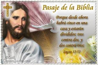 Resultado de imagen para Lucas 12,51-53: Jesús vino a traer la división