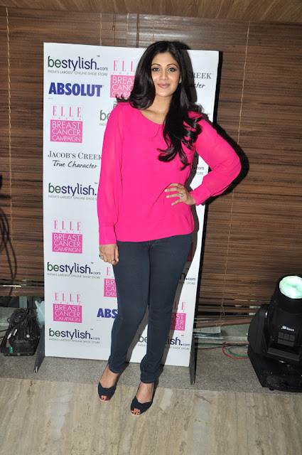 Shilpa and Sarah Jane Dias at Bestylish.com's Breast Cancer Awareness brunch