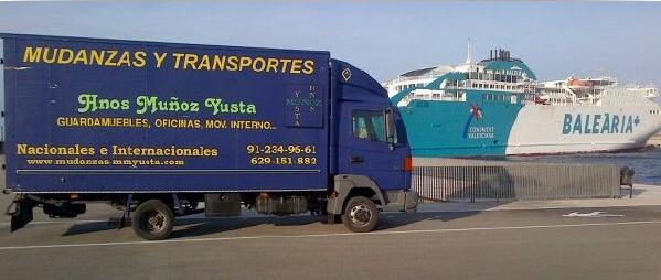 mudanzas en Madrid contacto Muñoz Yusta
