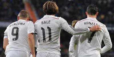 Real Madrid Kini Bisa Andalkan Kuartet Lini Serang