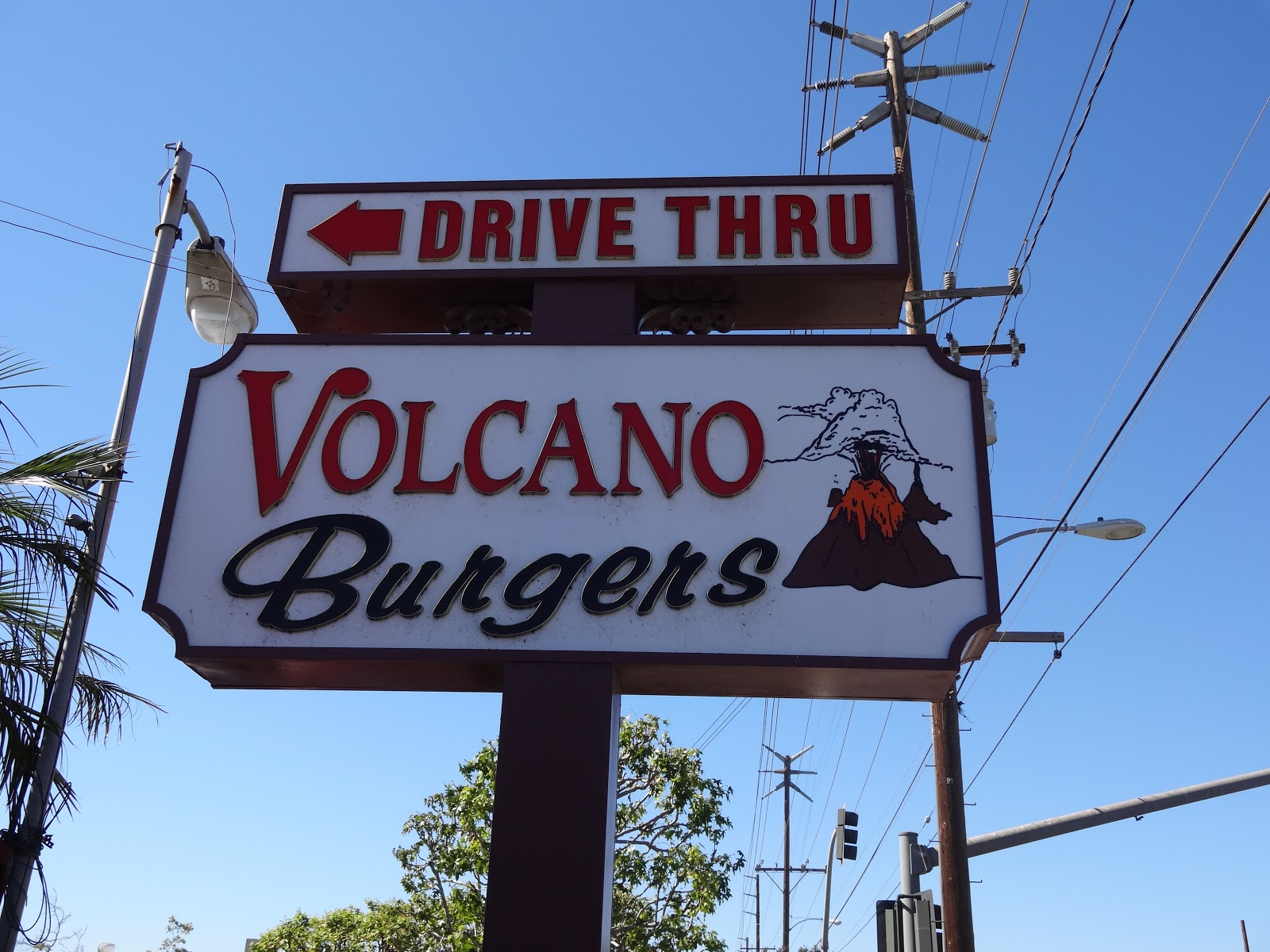 Volcano Burger Long Beach