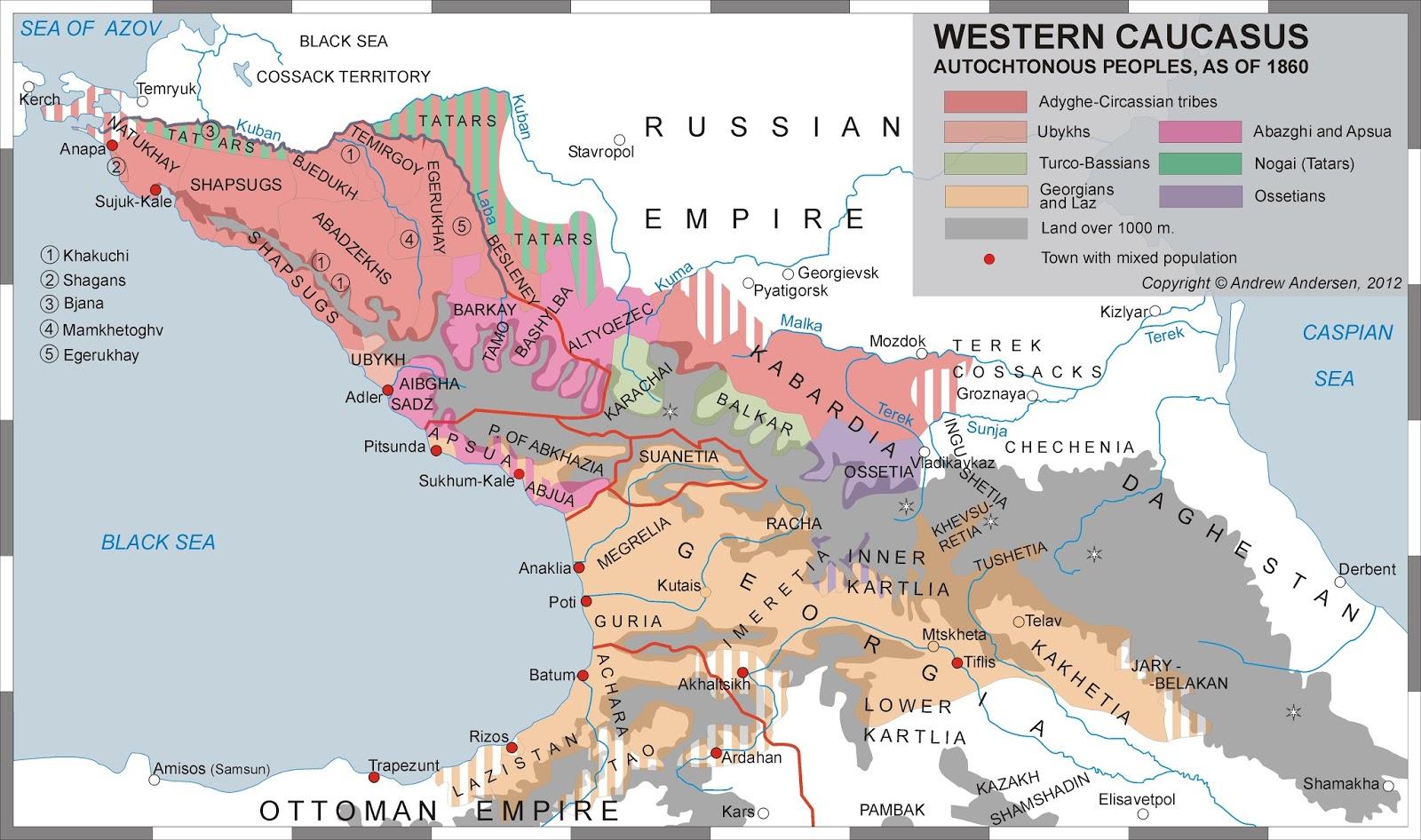 Russian Politics of Genocide in Northwestern Caucasus Circassia