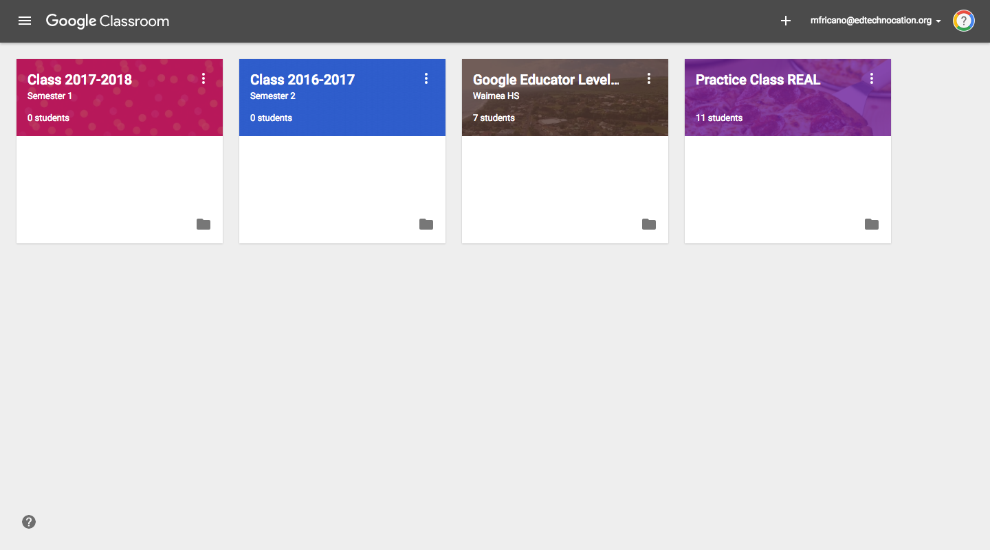 how to delete an account on google classroom