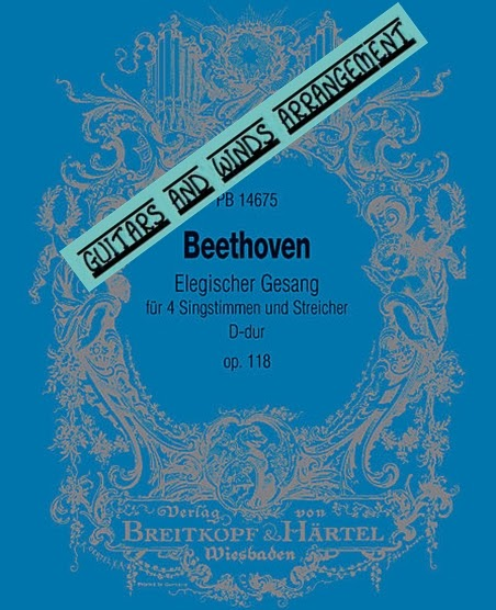 The Daily Beethoven: 6/7 The Elegiac Song (3 Versions)