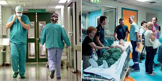 Οι γιατροί και το προσωπικό στον «Ευαγγελισμό» τιμούν τον όρκο στον Ιπποκράτη και σώζουν ανθρώπινες ζωές