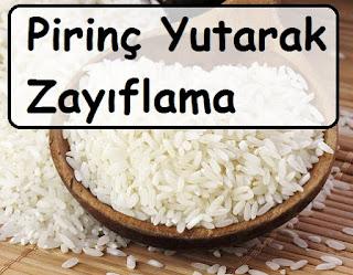 Pirinç Yutarak Zayıflama