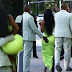Kanye West and Kim Kardashian pack on the PDA, he lifts her out of the G-Wagon as they arrive at 2 Chainz's wedding in Miami