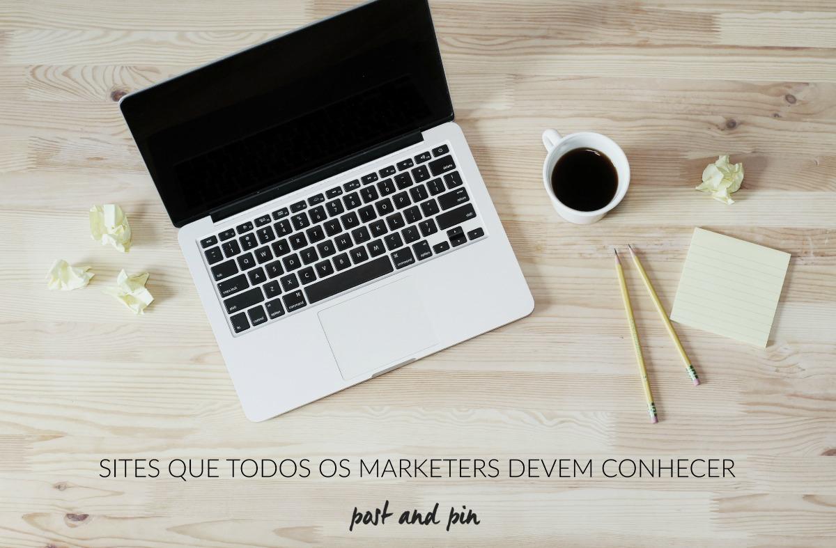 sites úteis para marketers