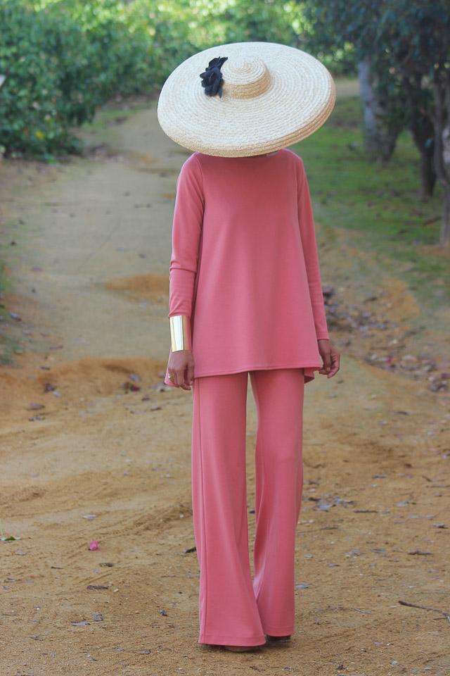 invitada vestido boda blog rebajas mono tocado primavera