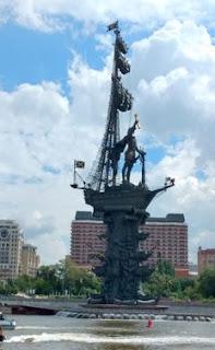 Tour con Tumoscú por la capital rusa.