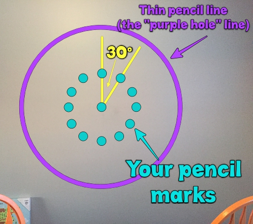 Making the Pencil Marks