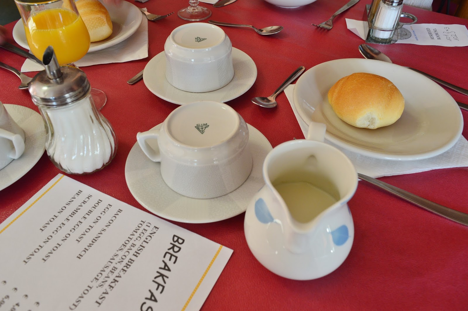 Italian Hotel Breakfast
