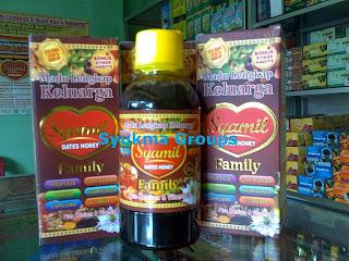 Syamil Family Dates Honey - Madu Lengkap Keluarga