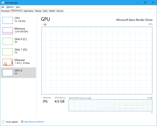 Windows 10 Fall Creators Update to add GPU Performance in Task Manager (www.kunal-chowdhury.com)