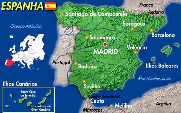 pirineus espanha mapa ESPANHA | Geografia em Movimento: pirineus espanha mapa